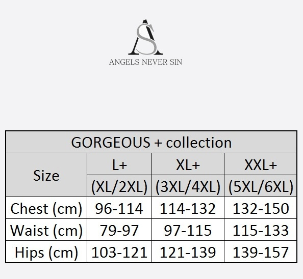 Angels Never Sin Plus Size Guide