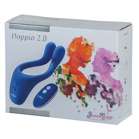 BeauMents Doppio 2.0 with Remote - Blue Packaging