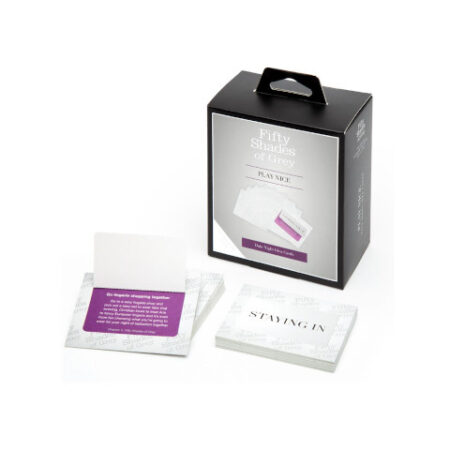 Fifty Shades Play Nice Date Night Card Game