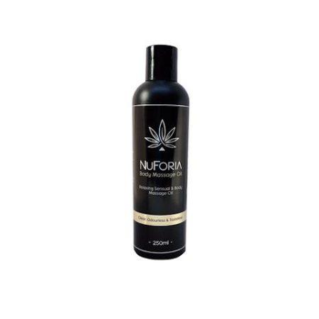 NuForia Body Massage Oil 250ml