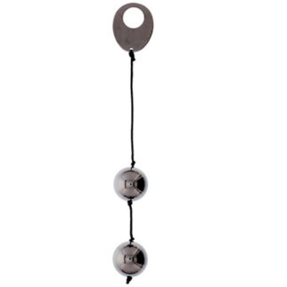 Seven Creations Heavy Metal Duo Spheres Silver